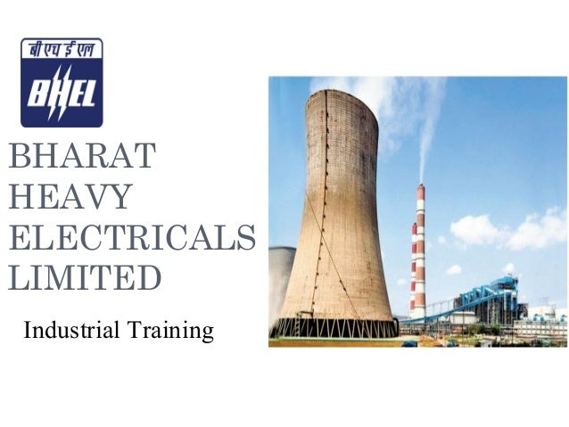 BHARAT HEAVY ELECTRICALS LIMITED Industrial Training