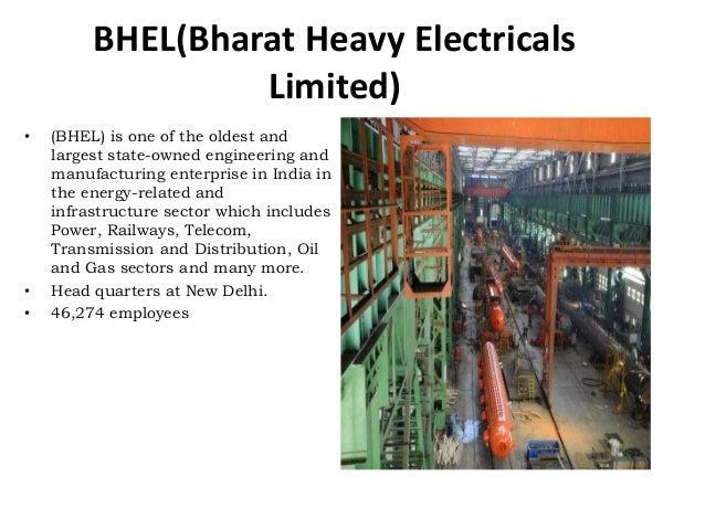 objectives of bhel