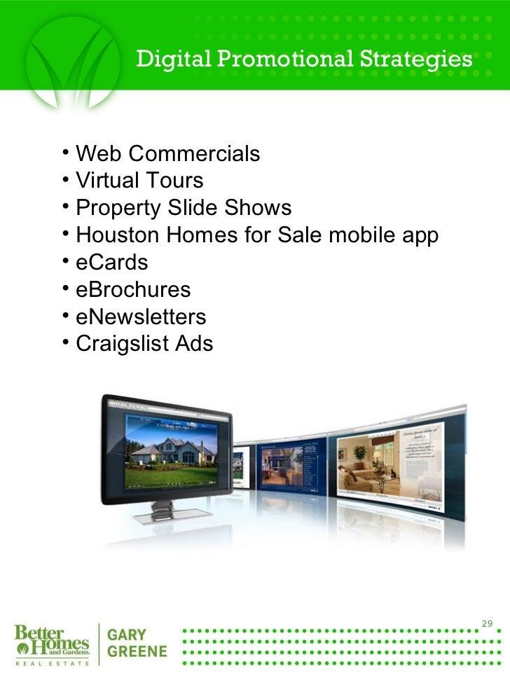 Better Homes And Gardens Real Estate Gary Greene Listing Presentation