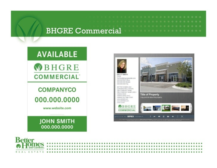 What BHGRE Gary Greene has to offer it\'s real estate agent team membe…