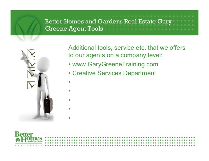 Bon Better Homes And Gardens Real Estate Gary Greene Agent ...