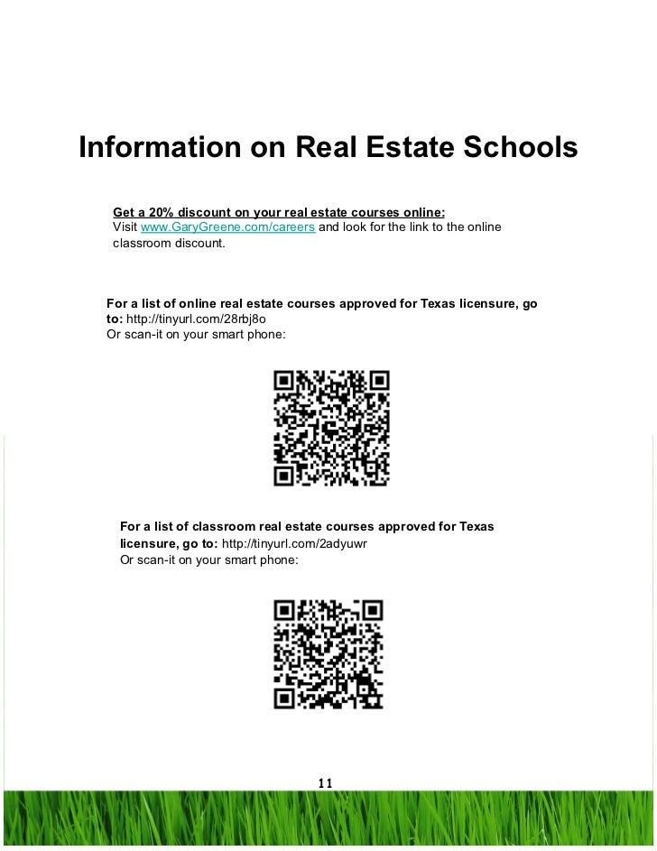 10; 11. Information On Real Estate Schools ...