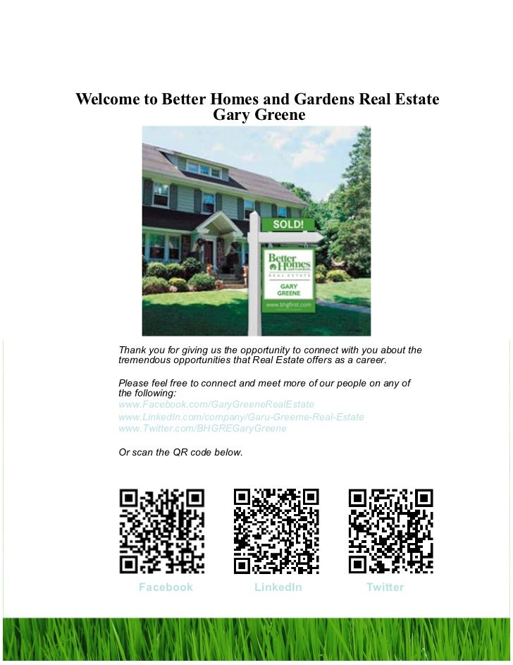 Beau Real Estate Career Opportunities; 2. Welcome To Better Homes And Gardens  Real ...
