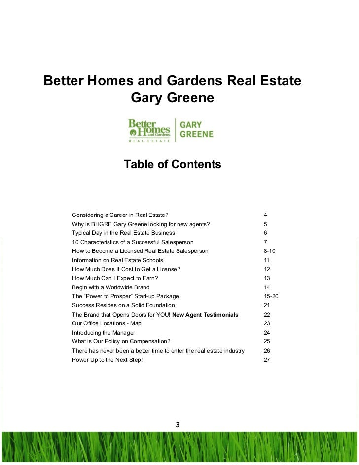 All About A Career In Real Estate With Better Homes And Gardens Real