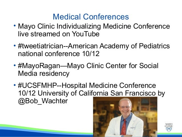 Healthcare Social Media and eProfessionalism Mayo Clinic