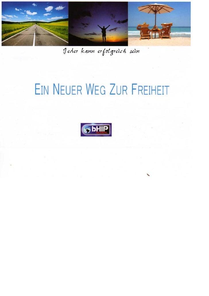 bHip Europa -Broschüre zum mitnehmen