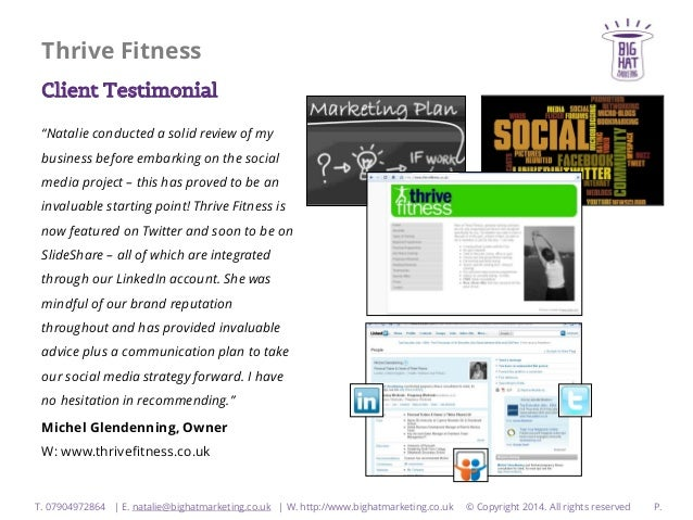 fitness plus a case study of