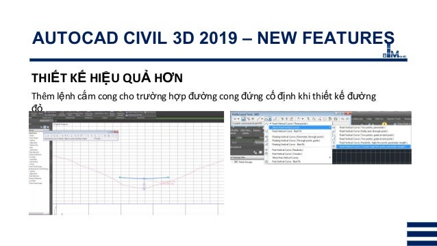 BHN - InfraWorks & Civil 3D 2019 - New features