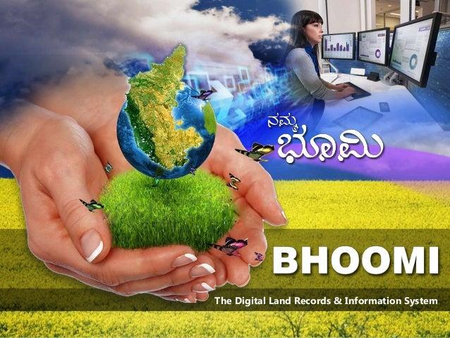 The Digital Land Records & Information System