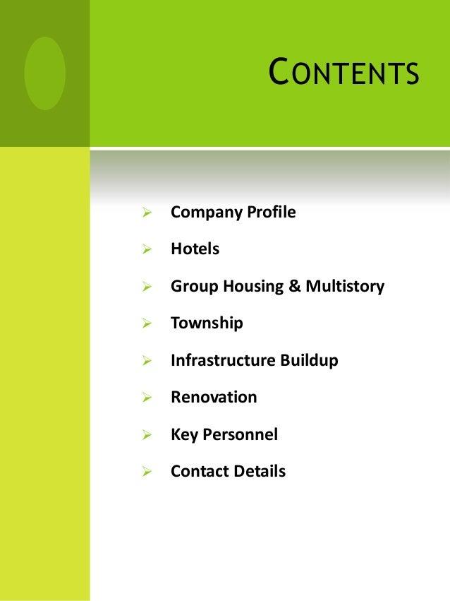 real estate company profile sample pdf