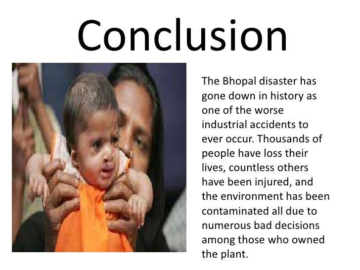Chemical conclusion