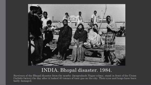 bhopal union carbide tragedy india