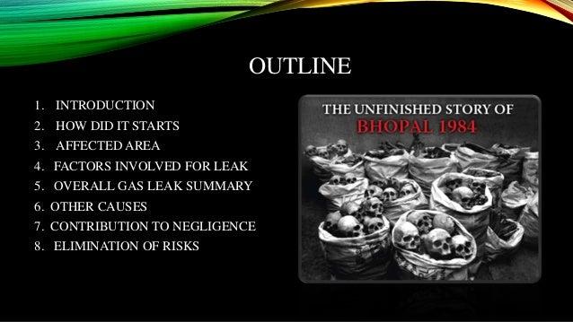 bhopal gas tragedy introduction