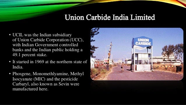 bhopal a nightmare for union carbide essay Paradigm shifts emerging framework disaster essays and term 183 essays on paradigm shifts emerging framework disaster union carbide's bhopal disaster in.