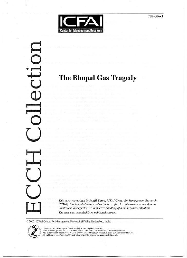 Bhopal gas tragedy_dutta