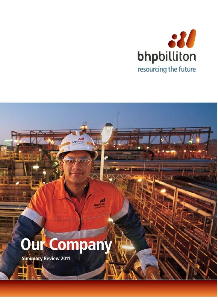 Our CompanySummary Review 2011