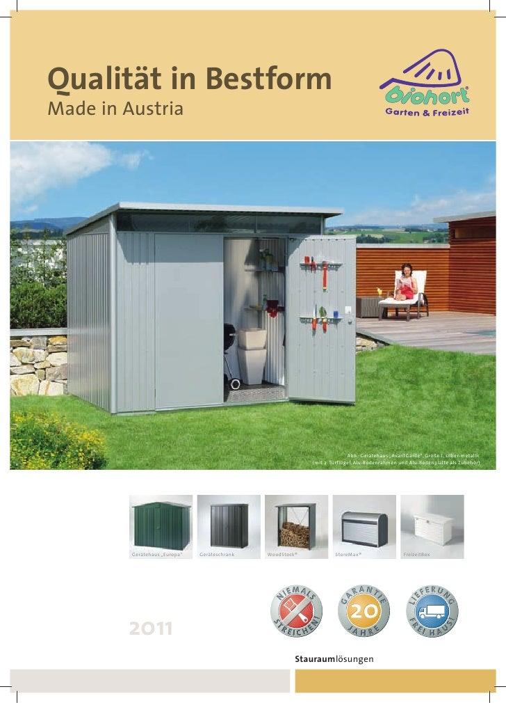 Qualität in BestformMade in Austria                                                                           Abb.: Geräte...