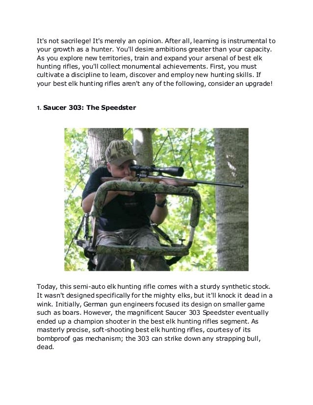 Top 4 Best Elk Hunting Rifles for an Incredible Harvest