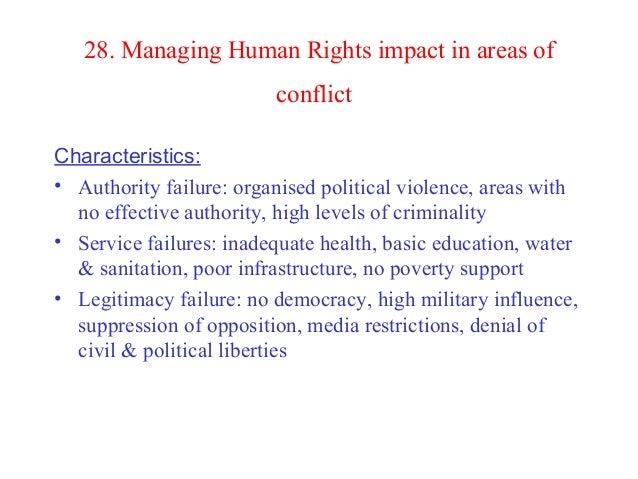 The characteristics of a legitimate democracy