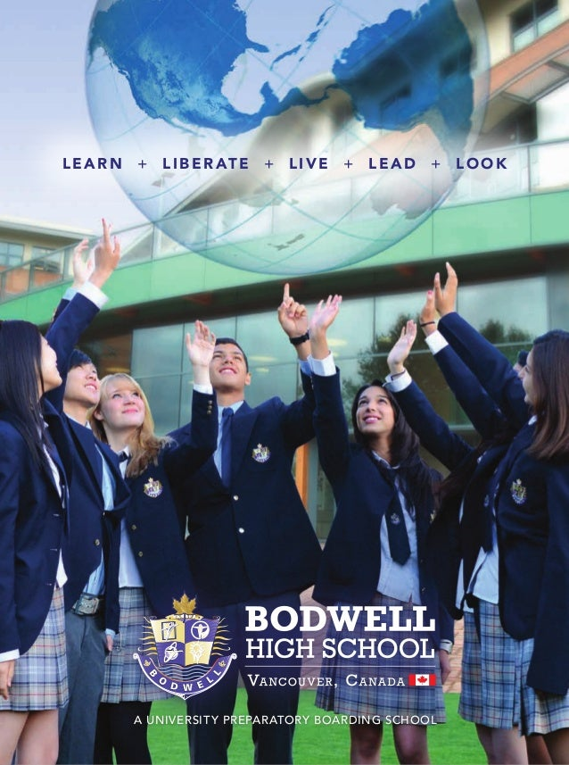 Bodwell High School 2015 2016 Brochure