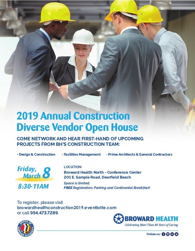 Follow us: LOCATION: Broward Health North - Conference Center 201 E. Sample Road, Deerfield Beach Space is limited. FREE ...