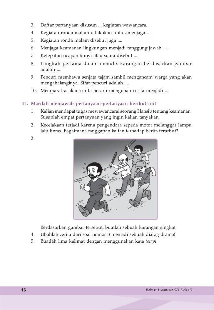 Bhs Indonesia Kls 5 Sd Samidi
