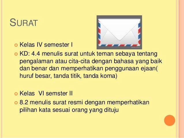 Bhs Indonesia Surat