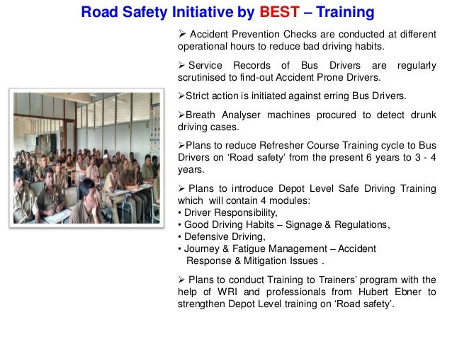 Promotion of public transport vital for reducing road accidents