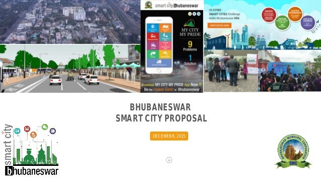 BHUBANESWAR SMART CITY PROPOSAL DECEMEBR, 2015