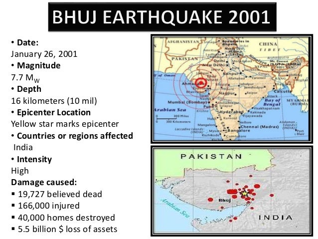case study on bhuj earthquake ppt