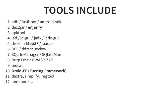 Android Tamer Bh Usa 2016 Arsenal Presentation
