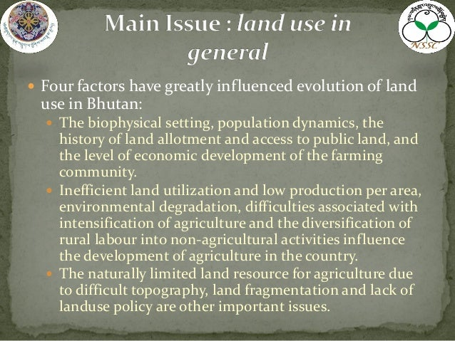 agricultural development policy in bhutan Bhutan, one of the most  it's a big change for bhutan, whose $22 billion economy is largely agricultural  oxford poverty and human development initiative 9 .