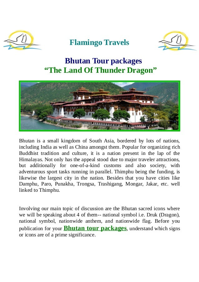 Bhutan Tour Packages The Land Of Thunder Dragon