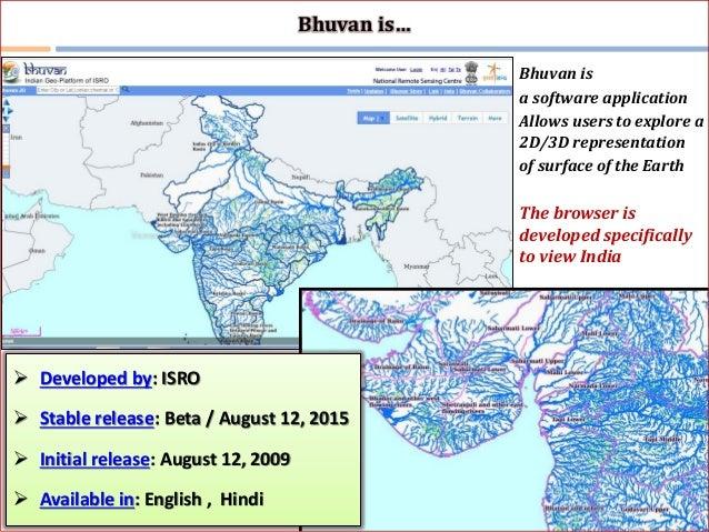 Bhuvan and DIVA-GIS software Training