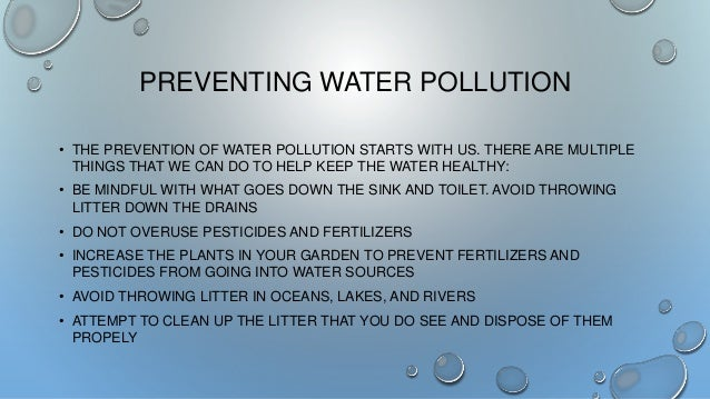 Bh water pollution