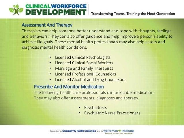 Behavioral Health Workforce Development