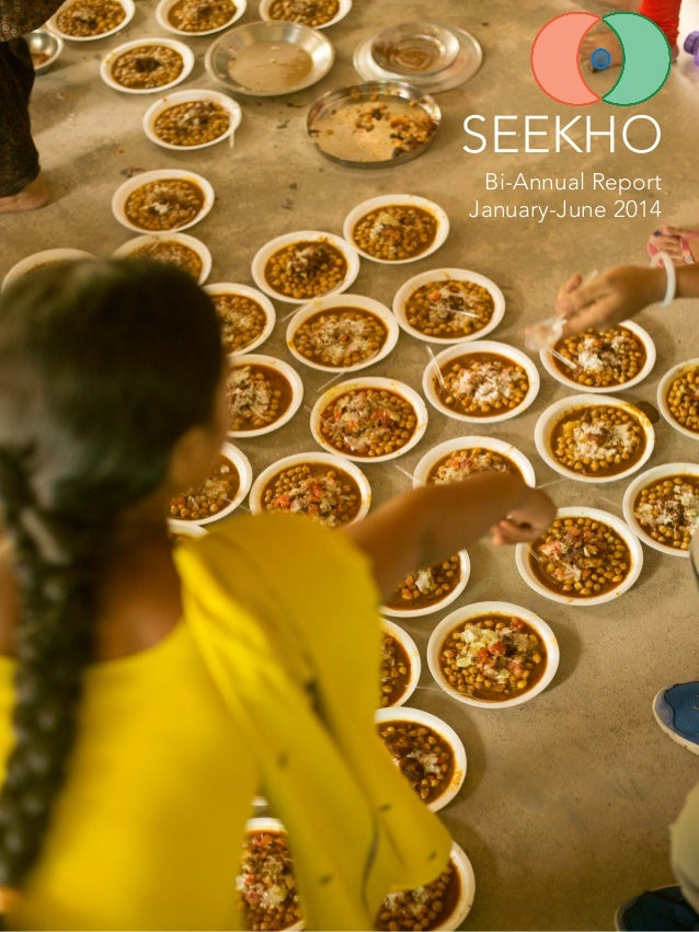 SEEKHO  Bi-Annual Report January-June 2014