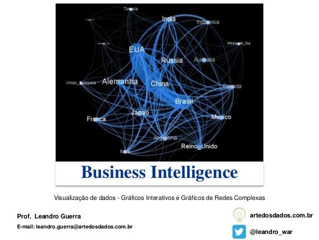 Business Intelligence Prof. Leandro Guerra E-mail: leandro.guerra@artedosdados.com.br @leandro_war artedosdados.com.br Vis...