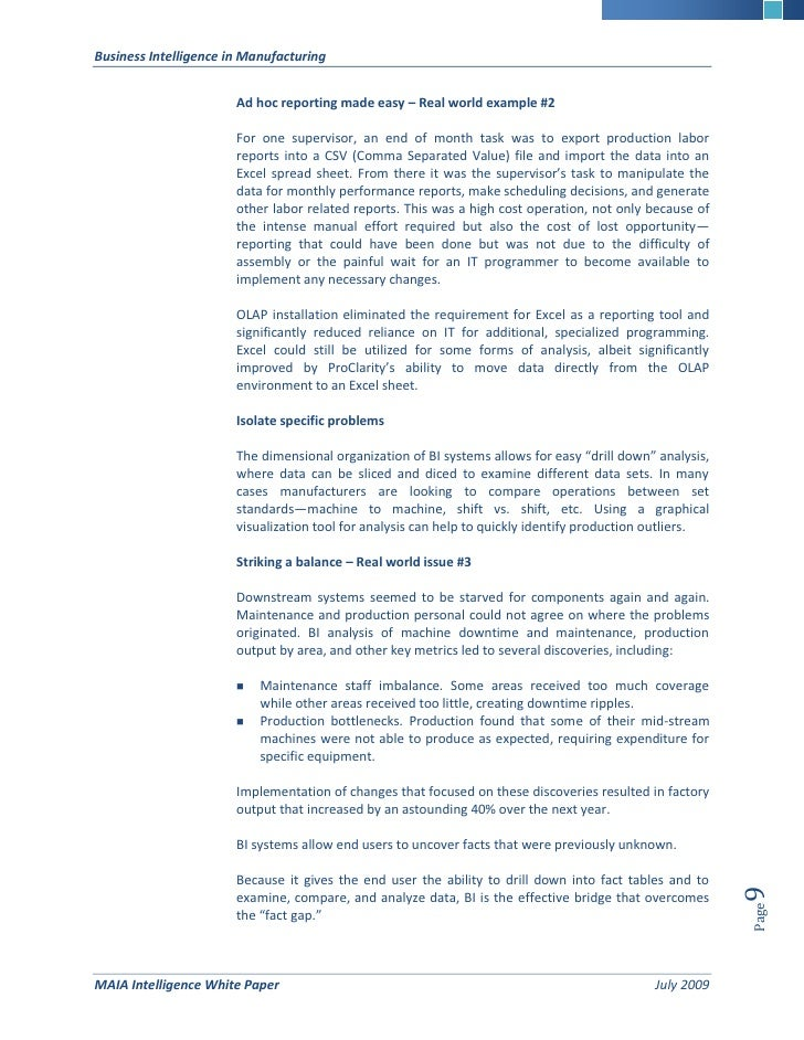 business analytics white paper This white paper describes the processes and technologies that host analytics has put in place to safeguard its customers' data.
