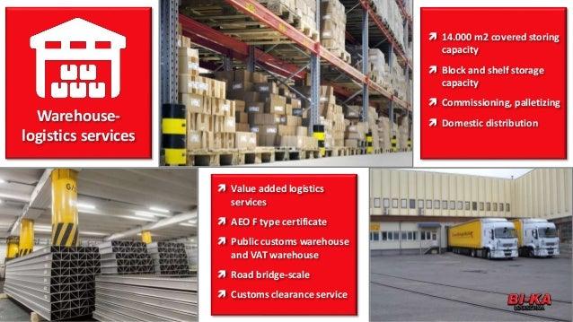 Bi-ka logistics company profile 2017