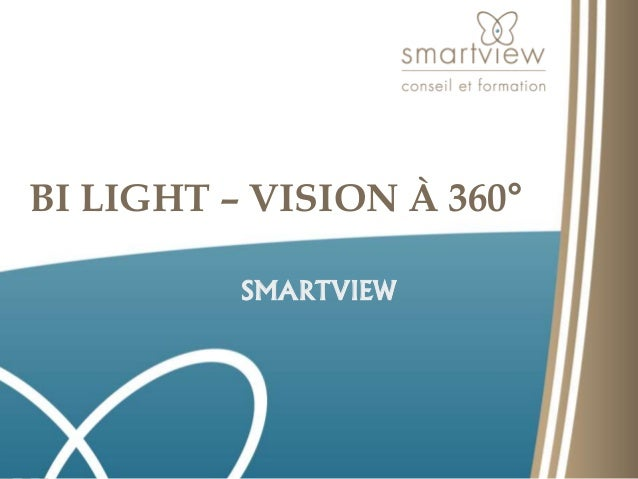 BI LIGHT – VISION À 360°  SMARTVIEW