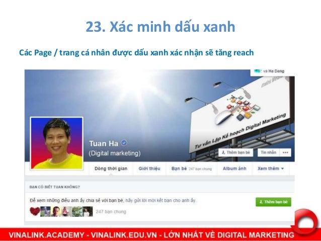24. Chủ đề liên quan Khi Fan post các content mà khi ta post lên content tương tự sẽ ưu tiên cùng xuất hiện