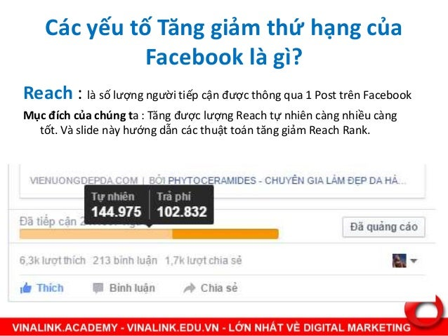 Facebook Ranking Factors - Toàn bộ mọi bí mật về Facebook Slide 3