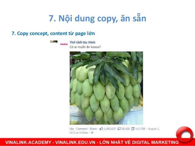 8. Nội dung chứa link spam Nội dung chứa spam link bị FB đánh dấu