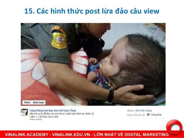 Tài liệu dành cho học viên Facebook Marketing tại Vinalink Hanoi/HCM LỊCH KHAI GiẢNG