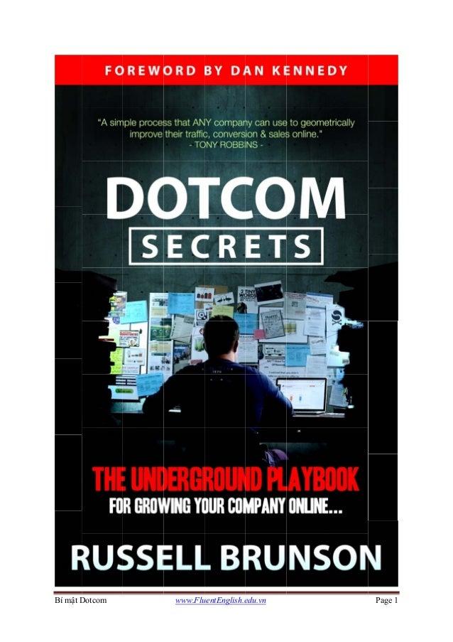 Bí mật DDotcom www.FluuentEnglish.eedu.vn Page 1