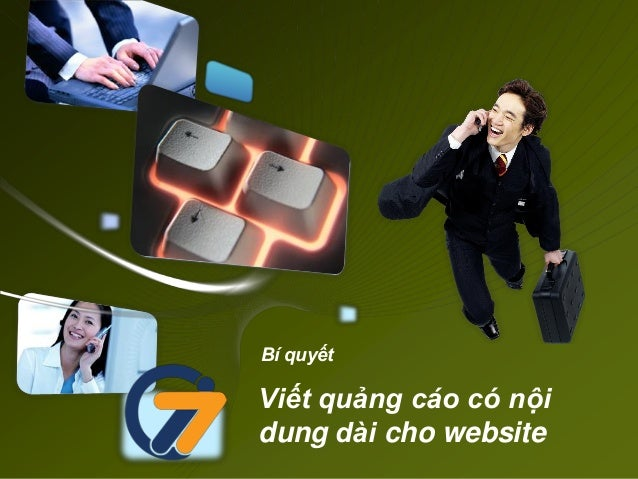 Bí quyếtViết quảng cáo có nộidung dài cho website