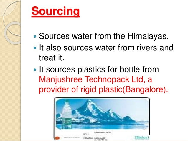 supply chain of bisleri A distribution network is a company's interconnected group of storage facilities and transportation systems that moves physical goods to customers  a simplified supply chain could involve a .