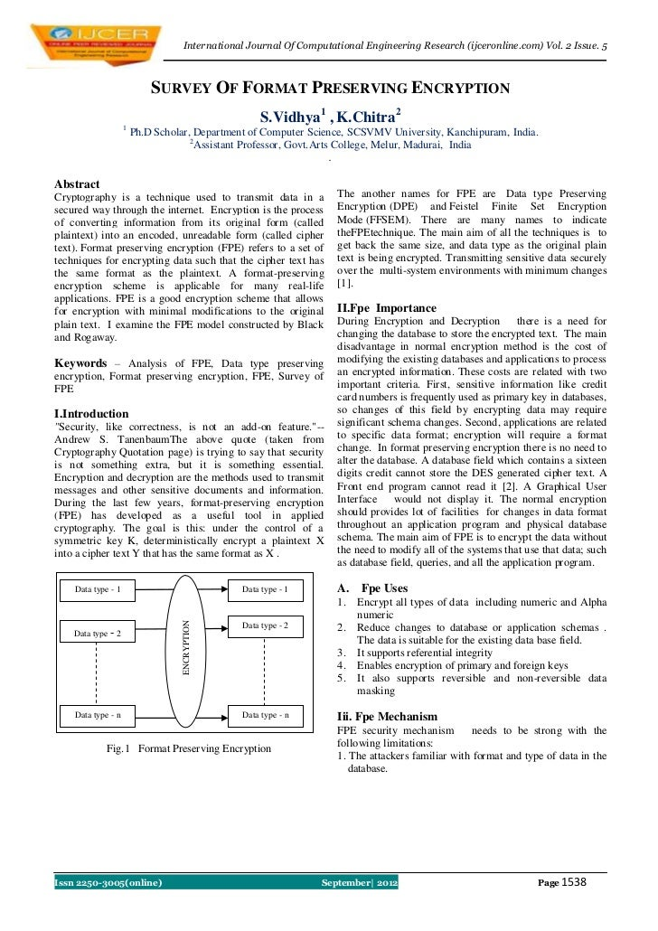 International Journal Of Computational Engineering Research (ijceronline.com) Vol. 2 Issue. 5                            S...
