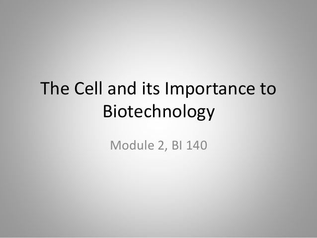 importance of biotechnology to mankind